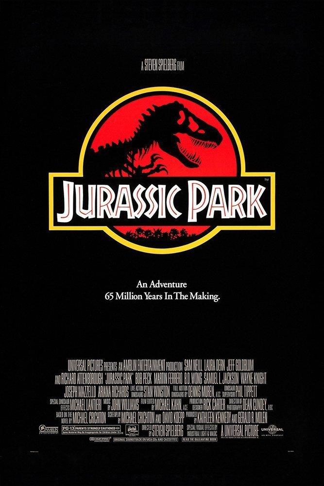 Poster for Jurassic Park