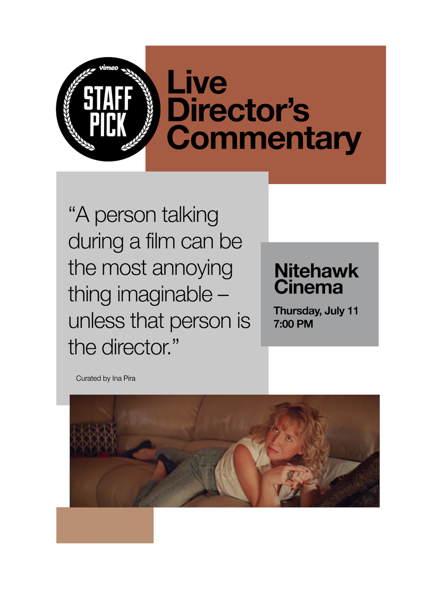 Poster for Vimeo Staff Picks with Live Director's Commentary #4
