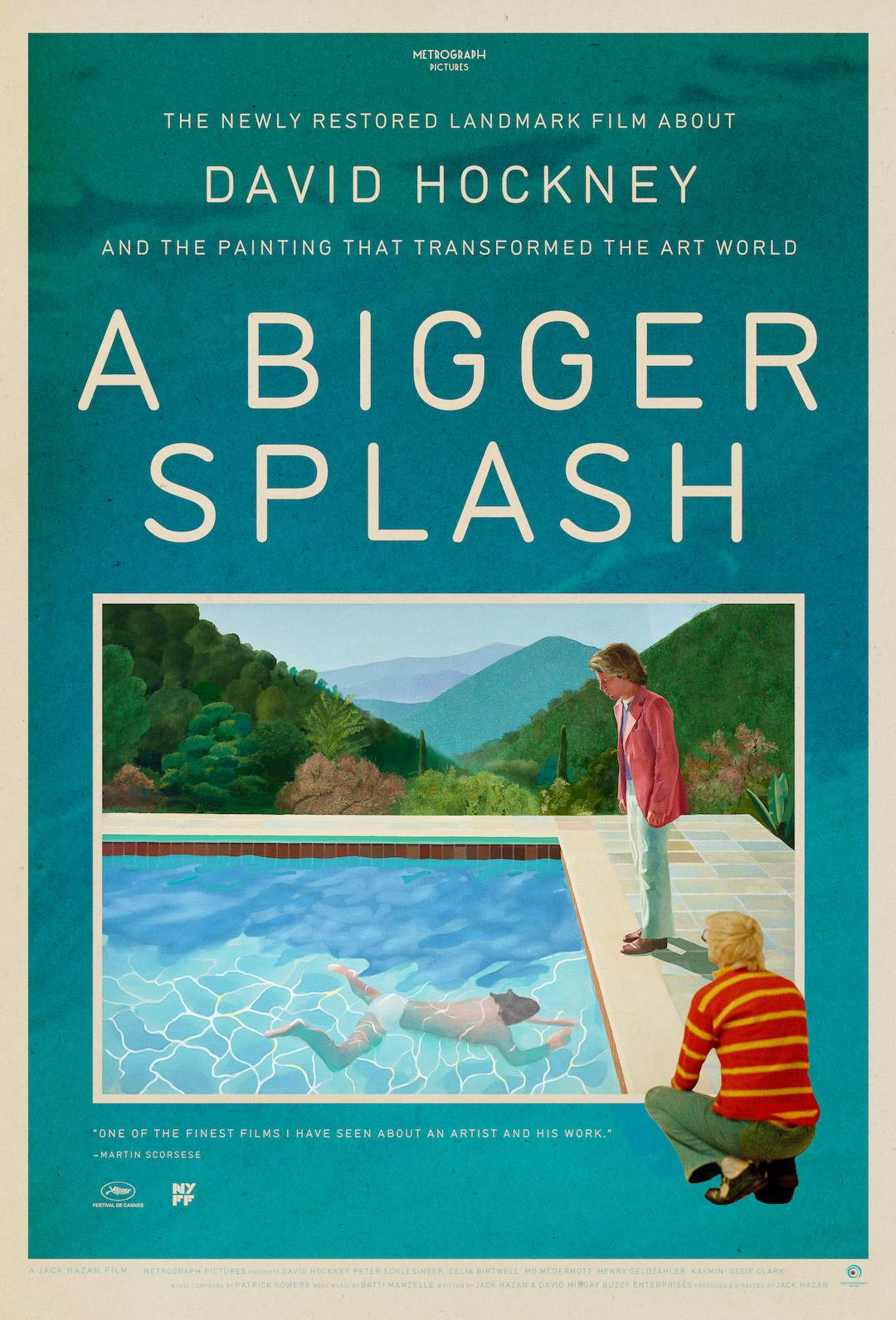 Poster for A Bigger Splash