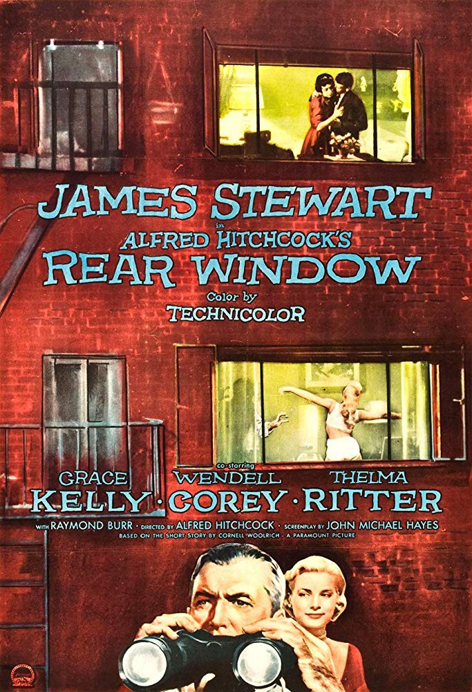 Poster for The Neighbors' Window w/ Rear Window