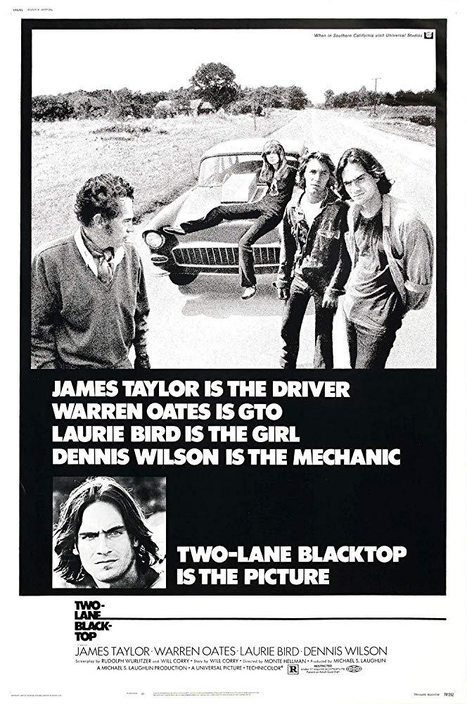 Poster for Two-Lane Blacktop