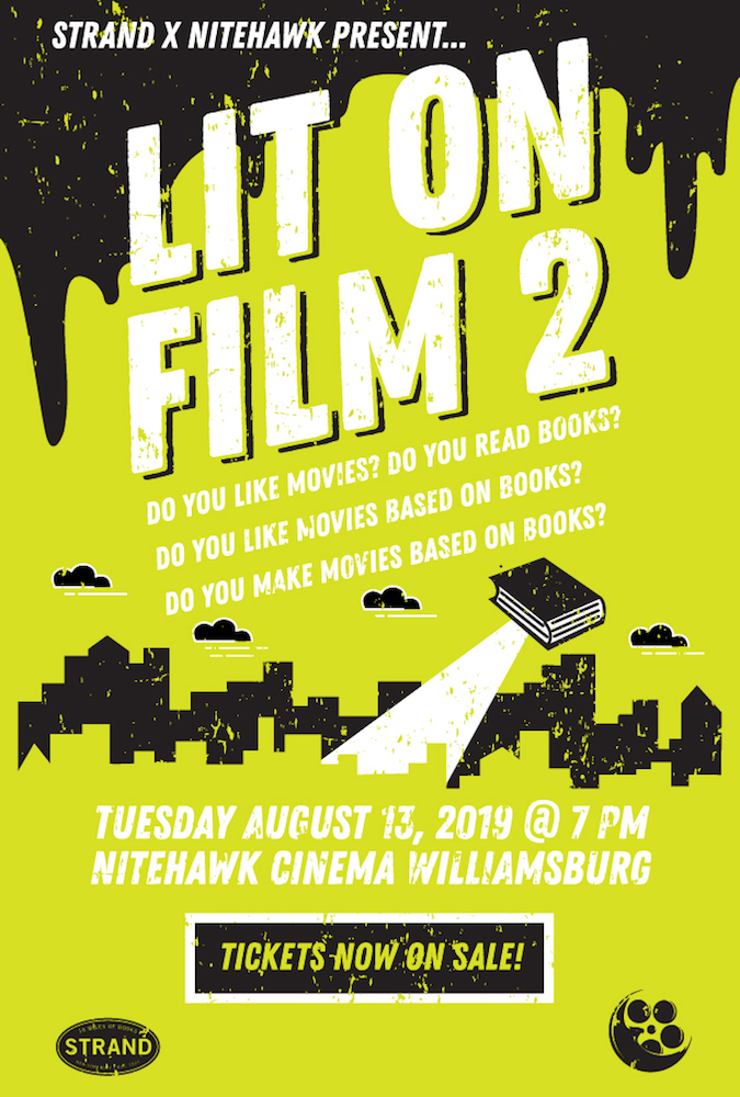 Poster for Lit on Film 2 with Strand Book Store
