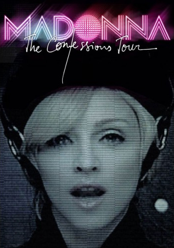 Poster for Madonna: The Confessions Tour Live from London