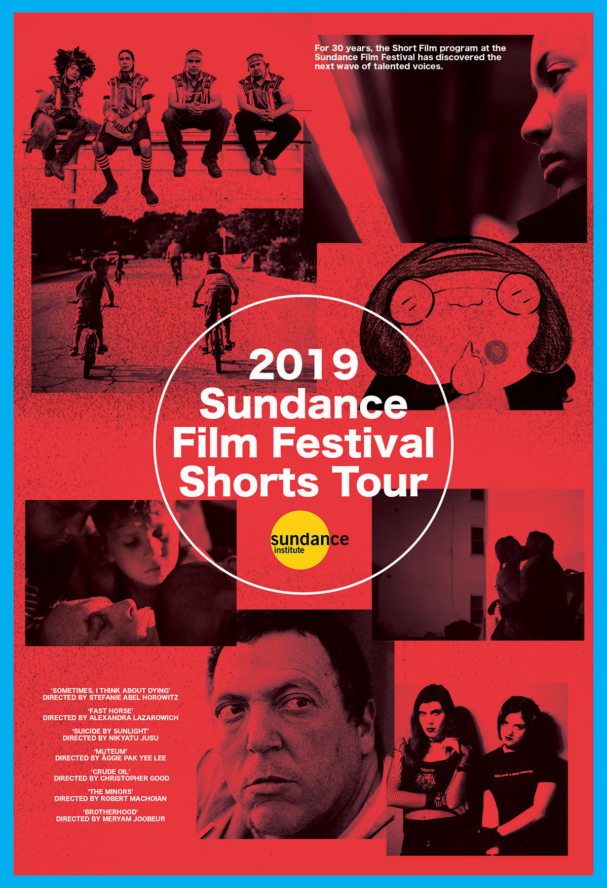 Poster for Sundance Shorts Tour