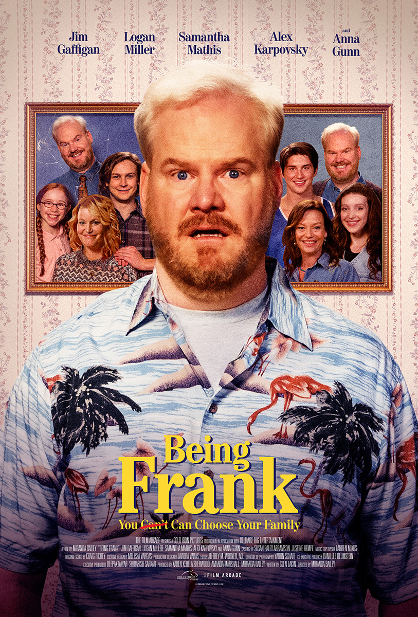 Poster for Being Frank