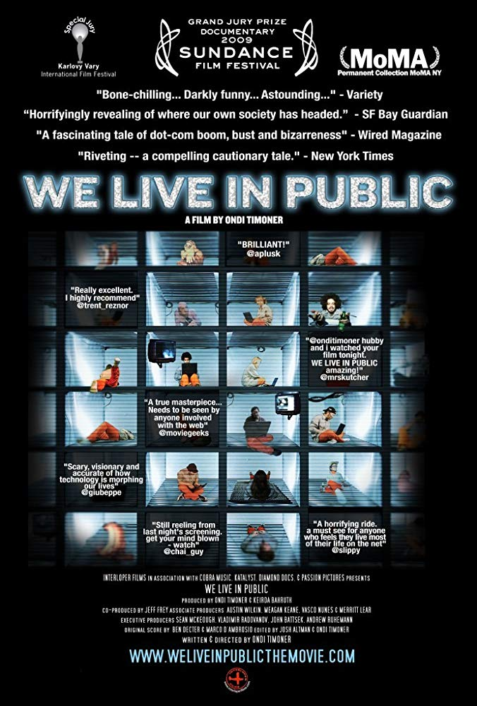Poster for We Live in Public