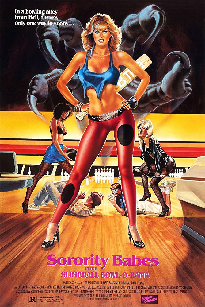 Poster for Sorority Babes in the Slimeball Bowl-O-Rama
