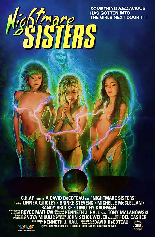 Poster for Nightmare Sisters