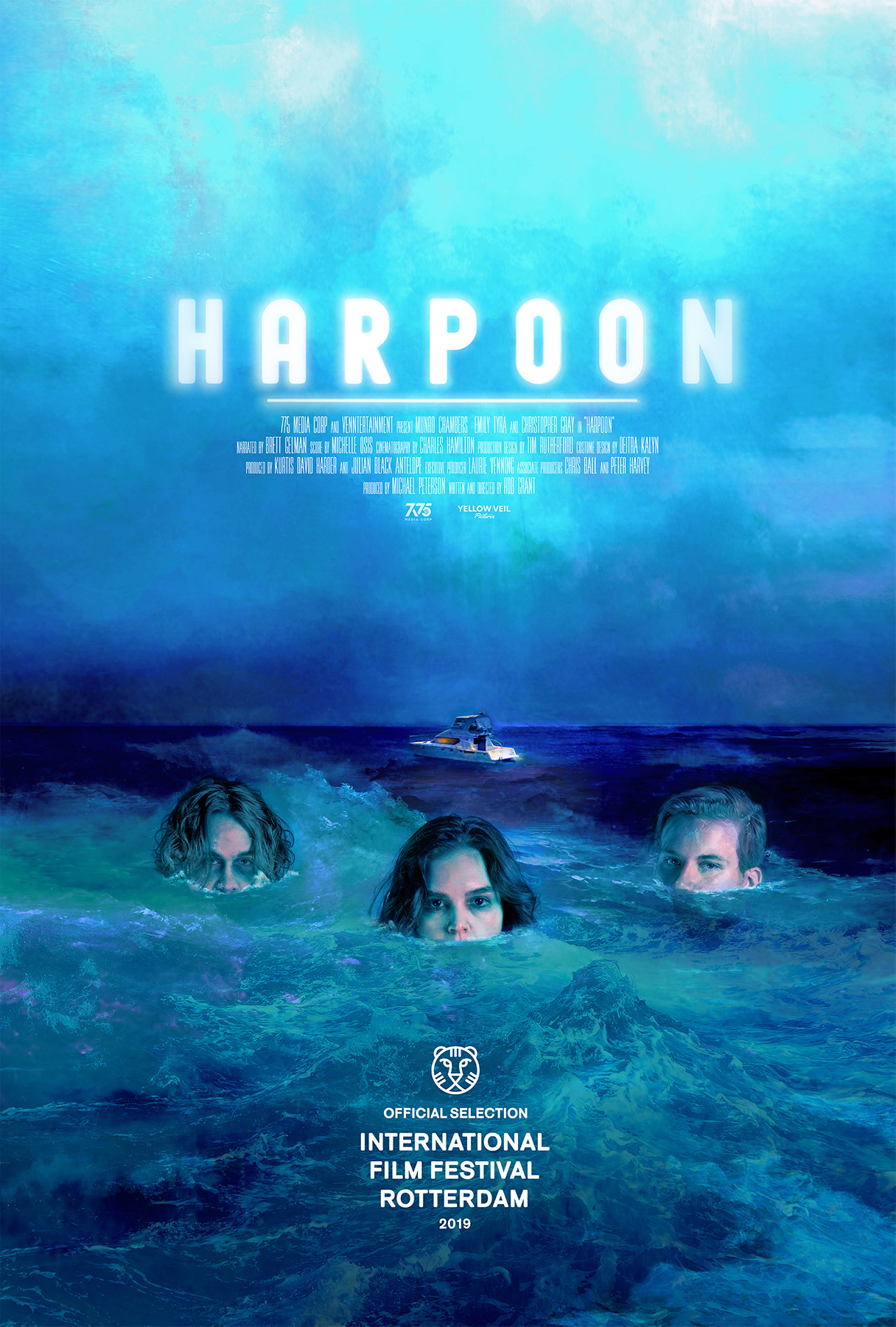 Poster for Harpoon (Followed by a Q&A with director Rob Grant)