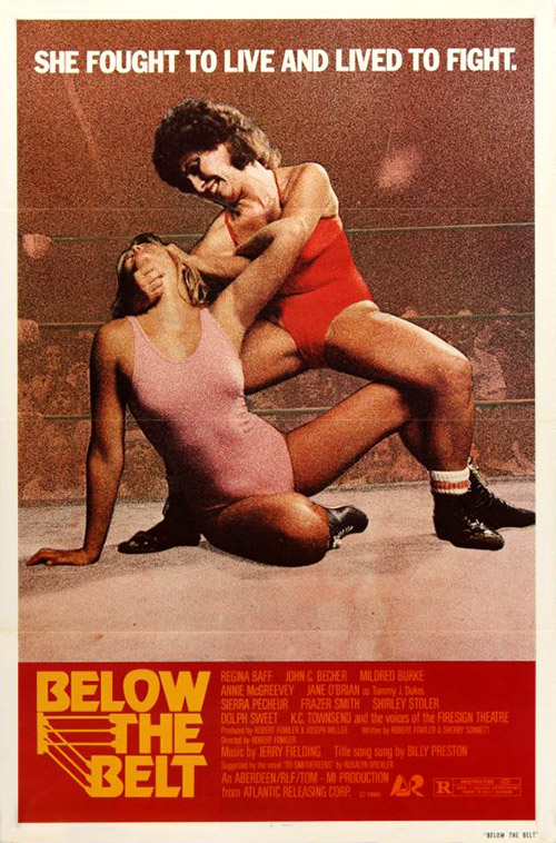 Poster for Below the Belt