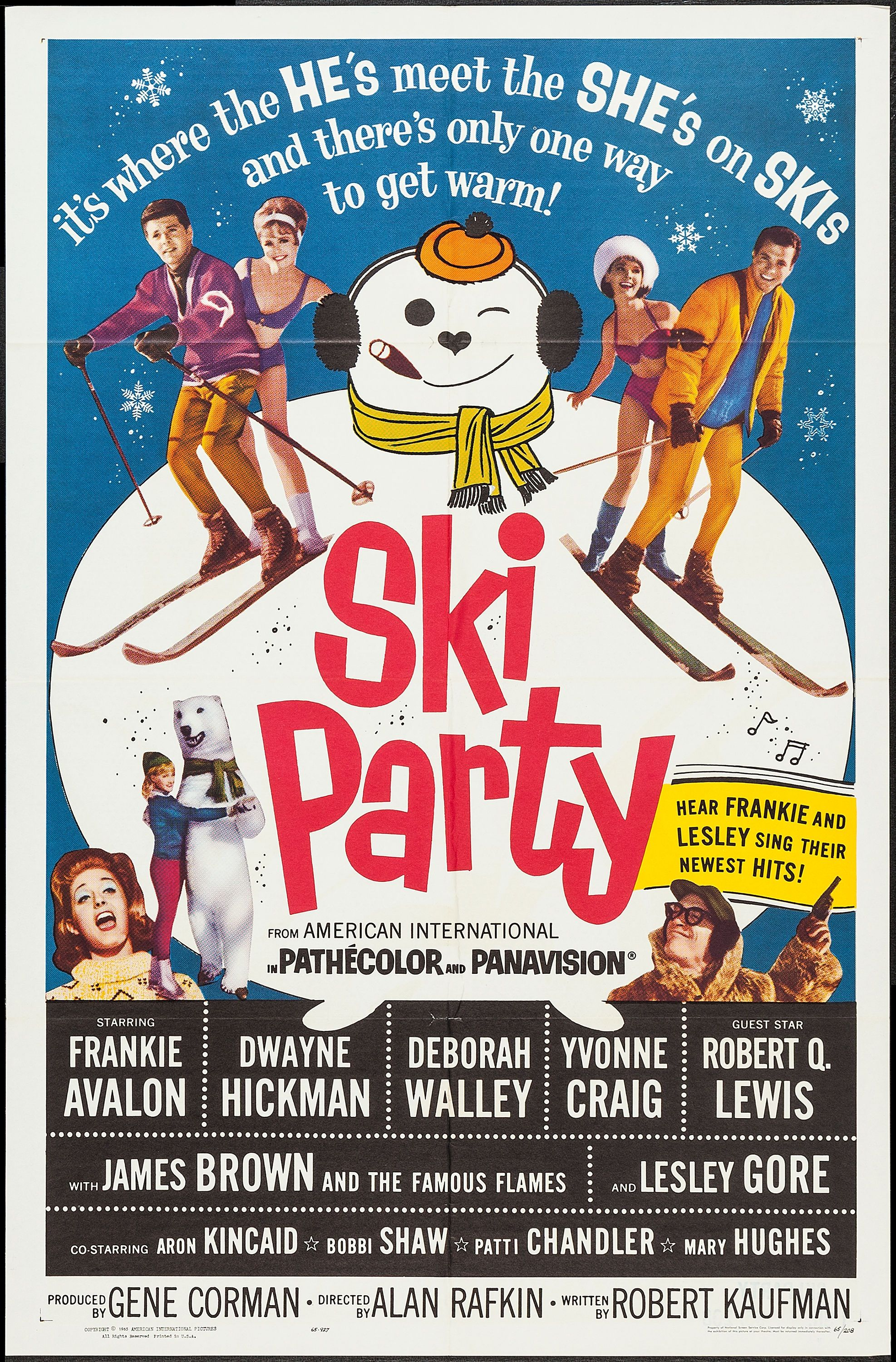 Poster for Ski Party