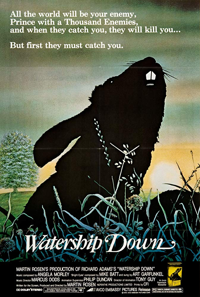 Poster for Watership Down (Live Score by Long Distance Poison)