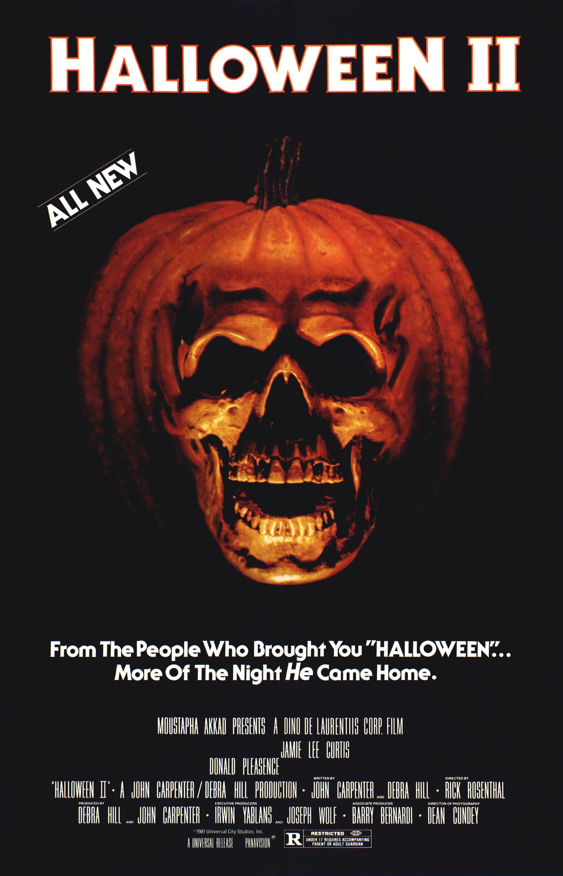 Poster for Halloween II