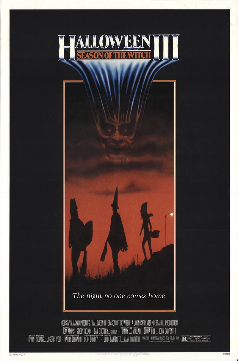 Poster for Halloween III: Season of the Witch