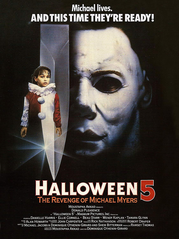 Poster for Halloween 5: The Revenge of Michael Myers