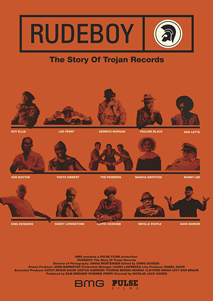 Poster for Rudeboy: The Story of Trojan Records (Q&A with DJ Tony English & afterparty)