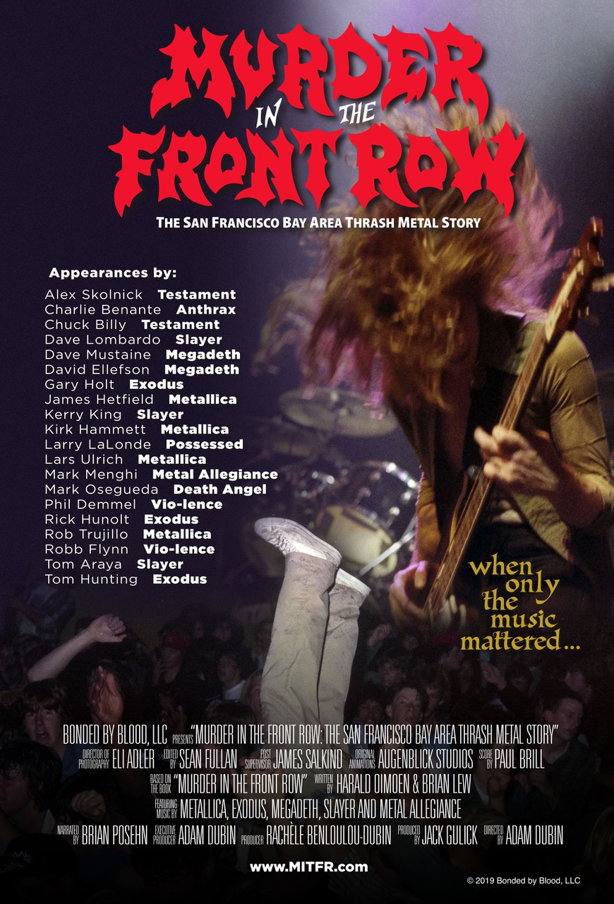 Poster for Murder in the Front Row: The San Francisco Bay Area Thrash Metal Story