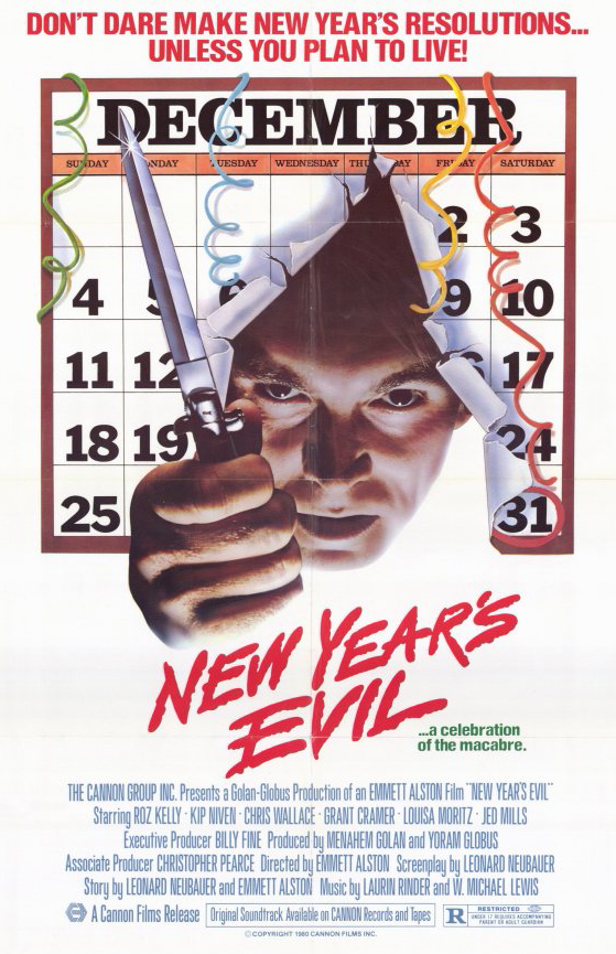 Poster for New Year's Evil