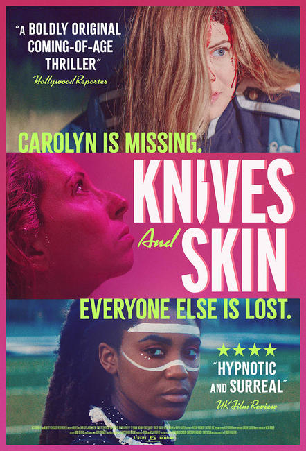 Poster for Knives and Skin