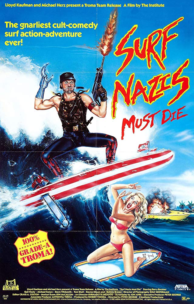 Poster for Surf Nazis Must Die