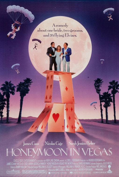 Poster for Honeymoon in Vegas