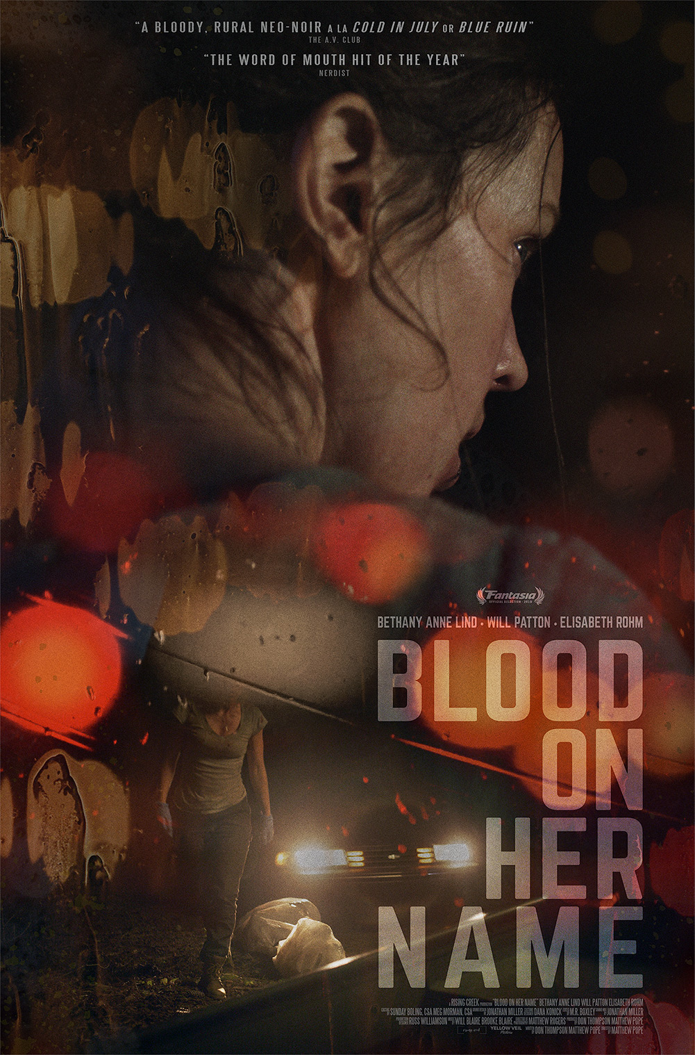 Poster for Blood on Her Name