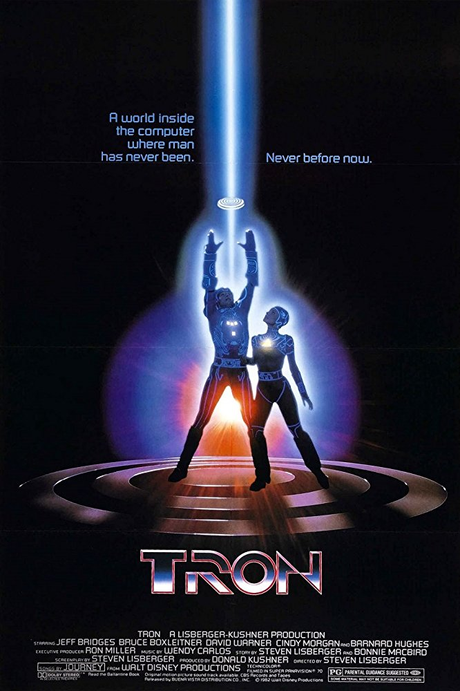 Poster for Tron