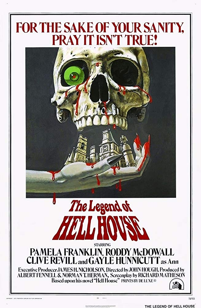 Poster for The Legend of Hell House