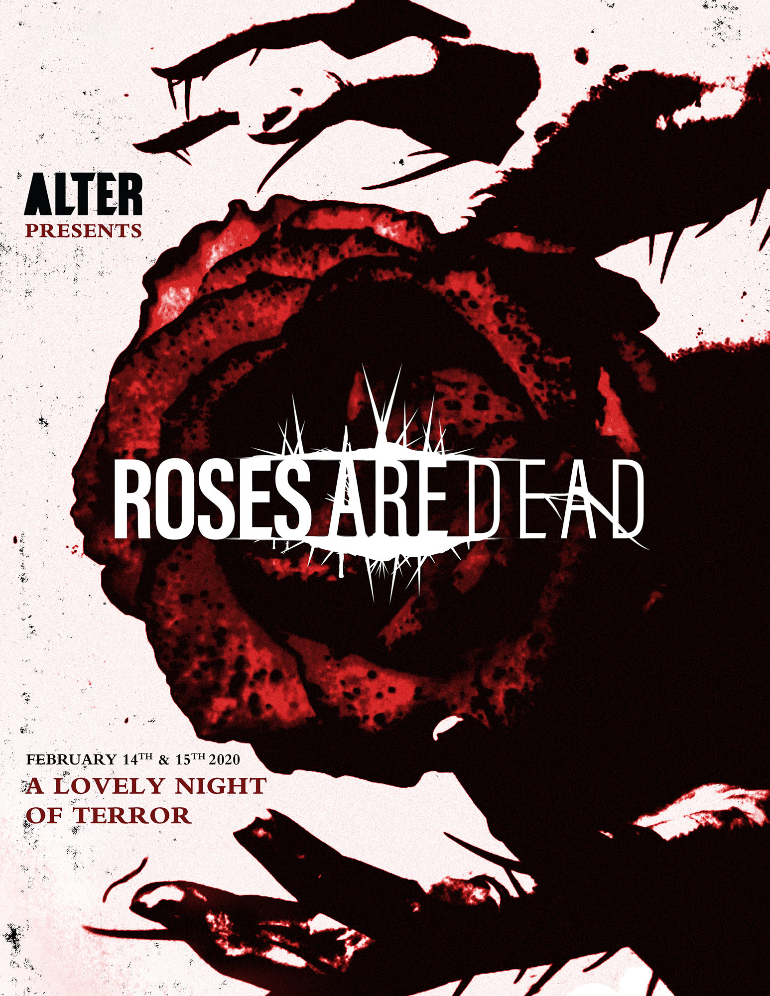 Poster for Roses Are Dead, Volume One