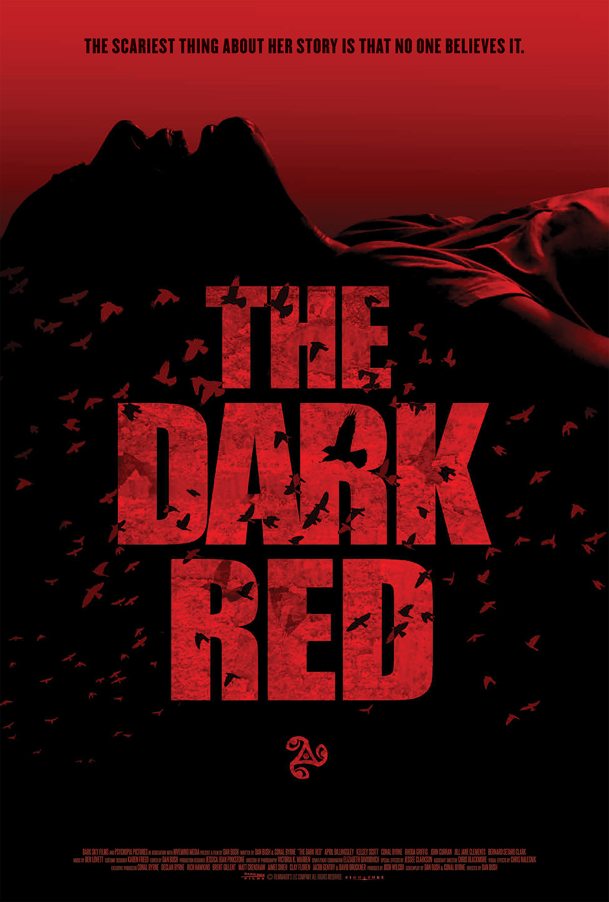 Poster for The Dark Red