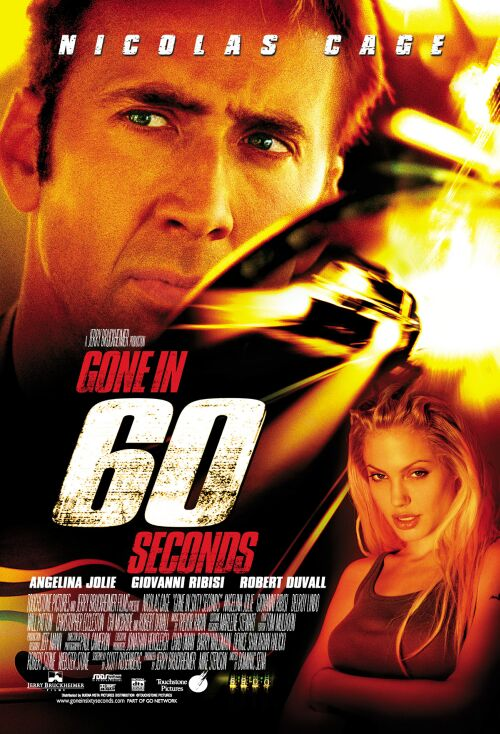 Poster for Gone in 60 Seconds (A Film Feast Presentation)