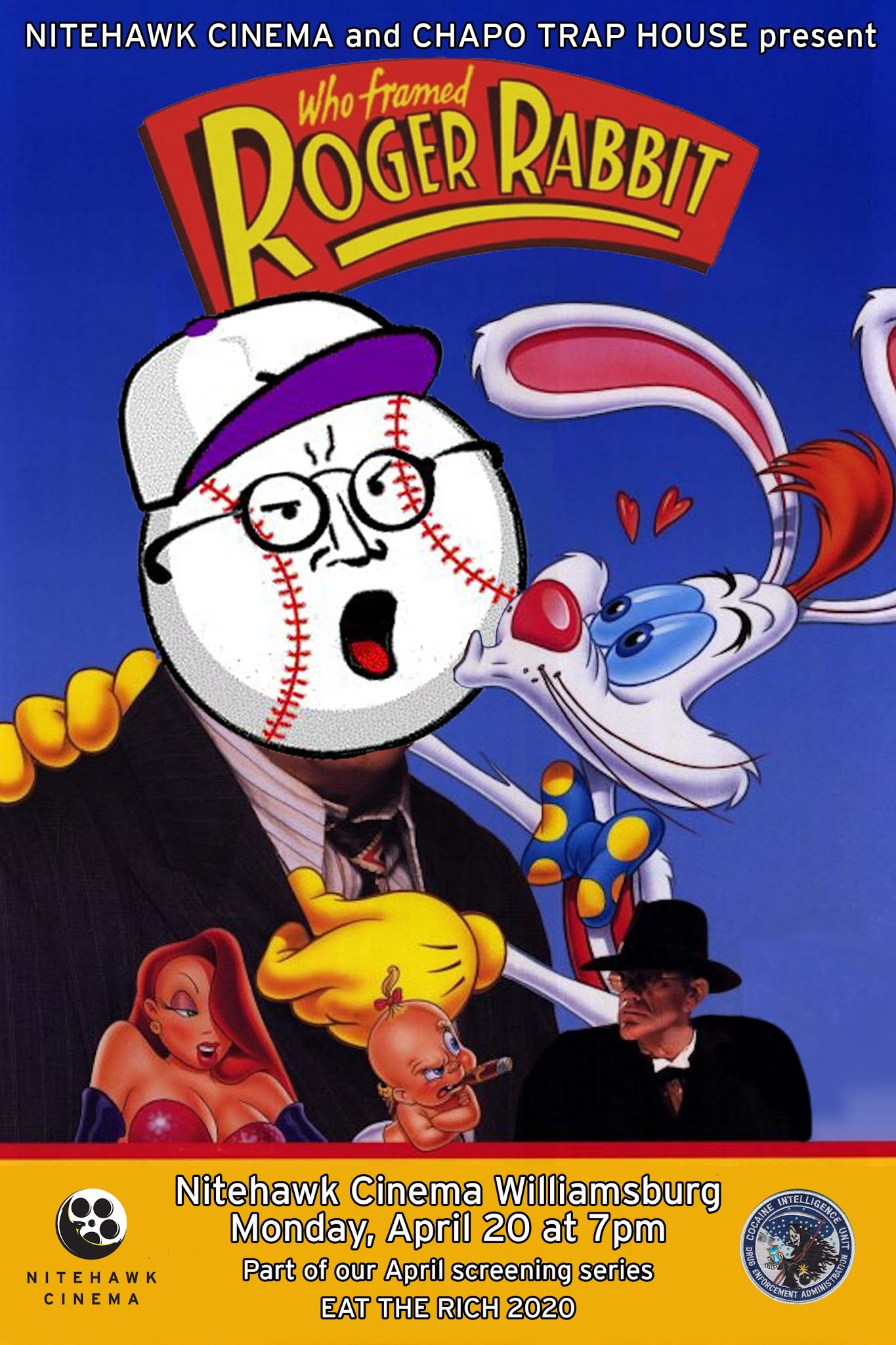 Poster for An Evening with Chapo Trap House: Who Framed Roger Rabbit