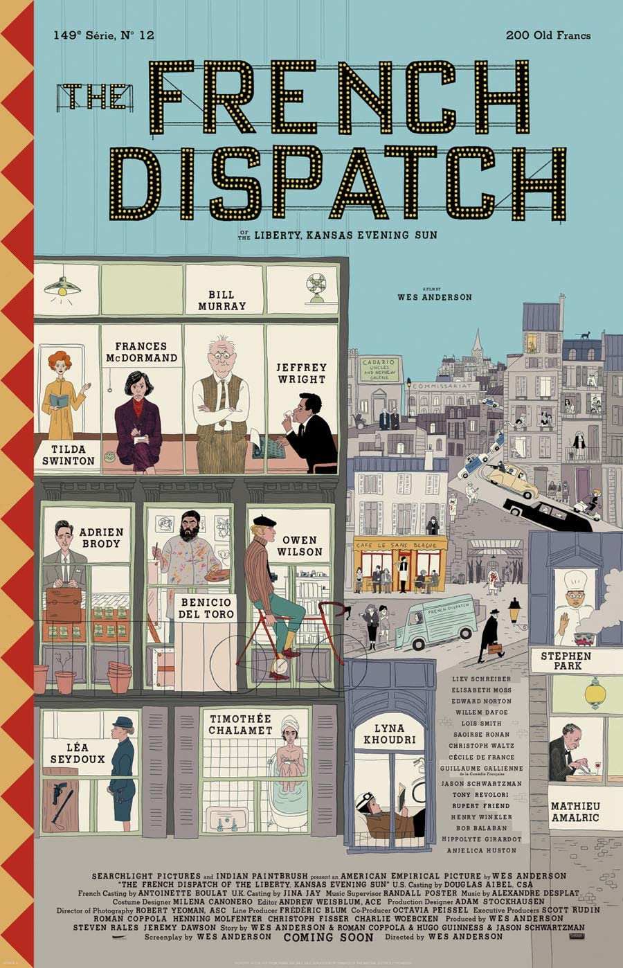 Poster for The French Dispatch