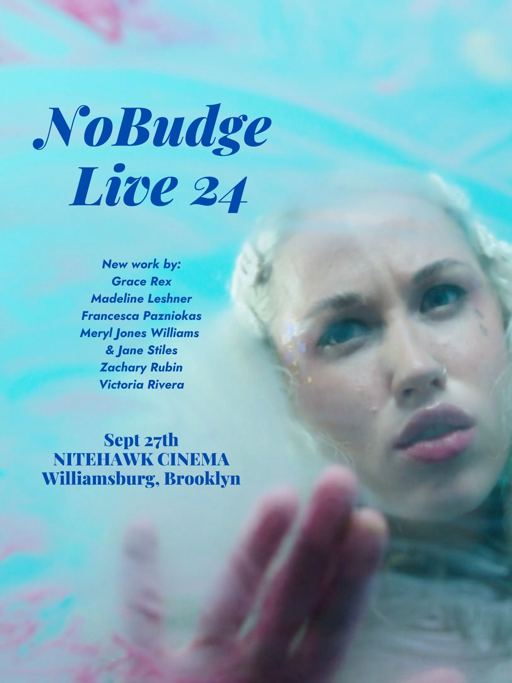 Poster for NoBudge Live #24