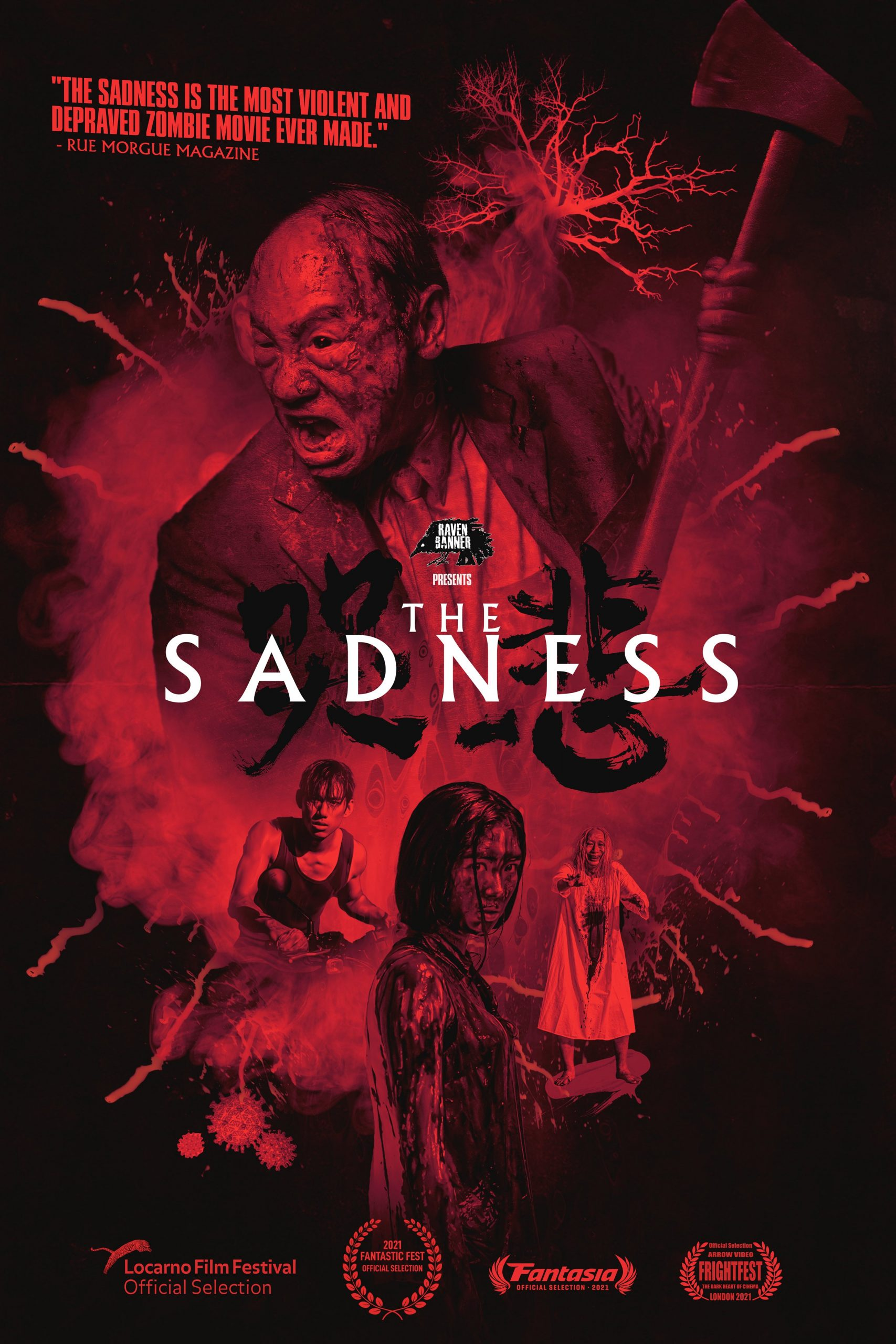 Poster for The Sadness