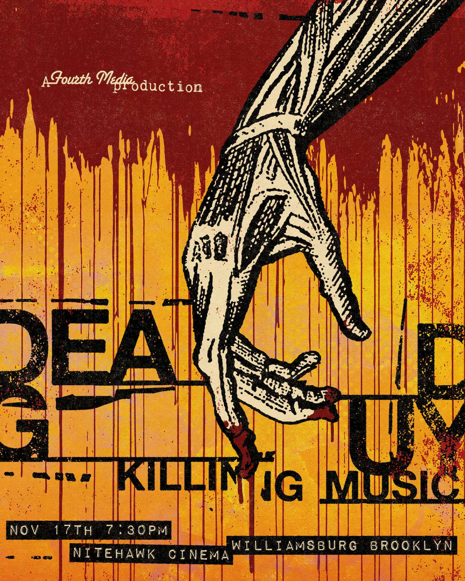 Poster for Deadguy: Killing Music (Q&A with Deadguy and William Saunders)