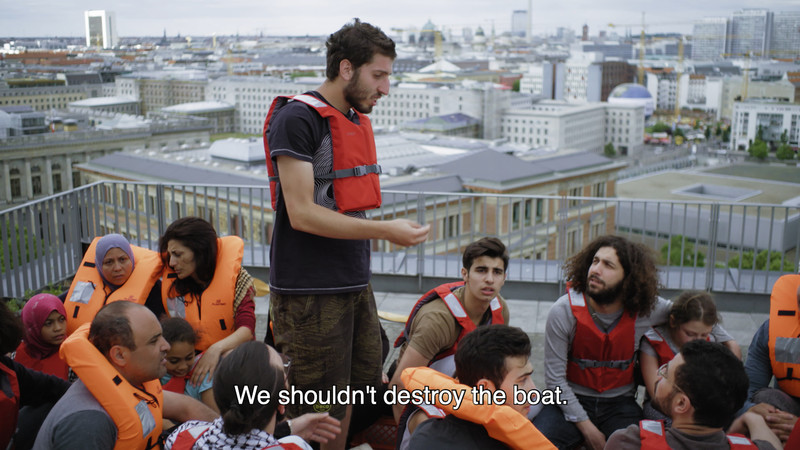 We shouldn't destroy the boat.