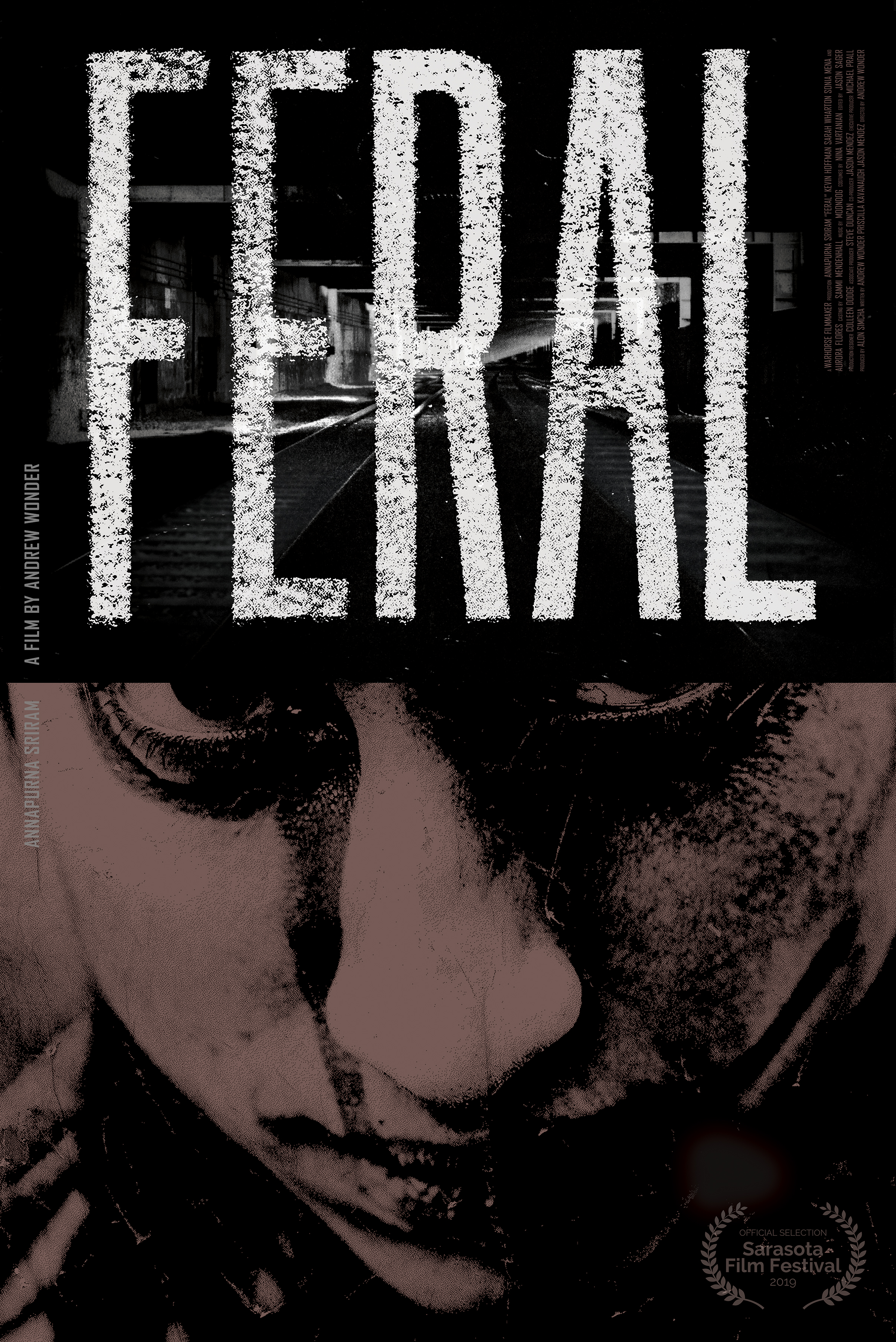 Poster for Cine Mexico Now – FERAL