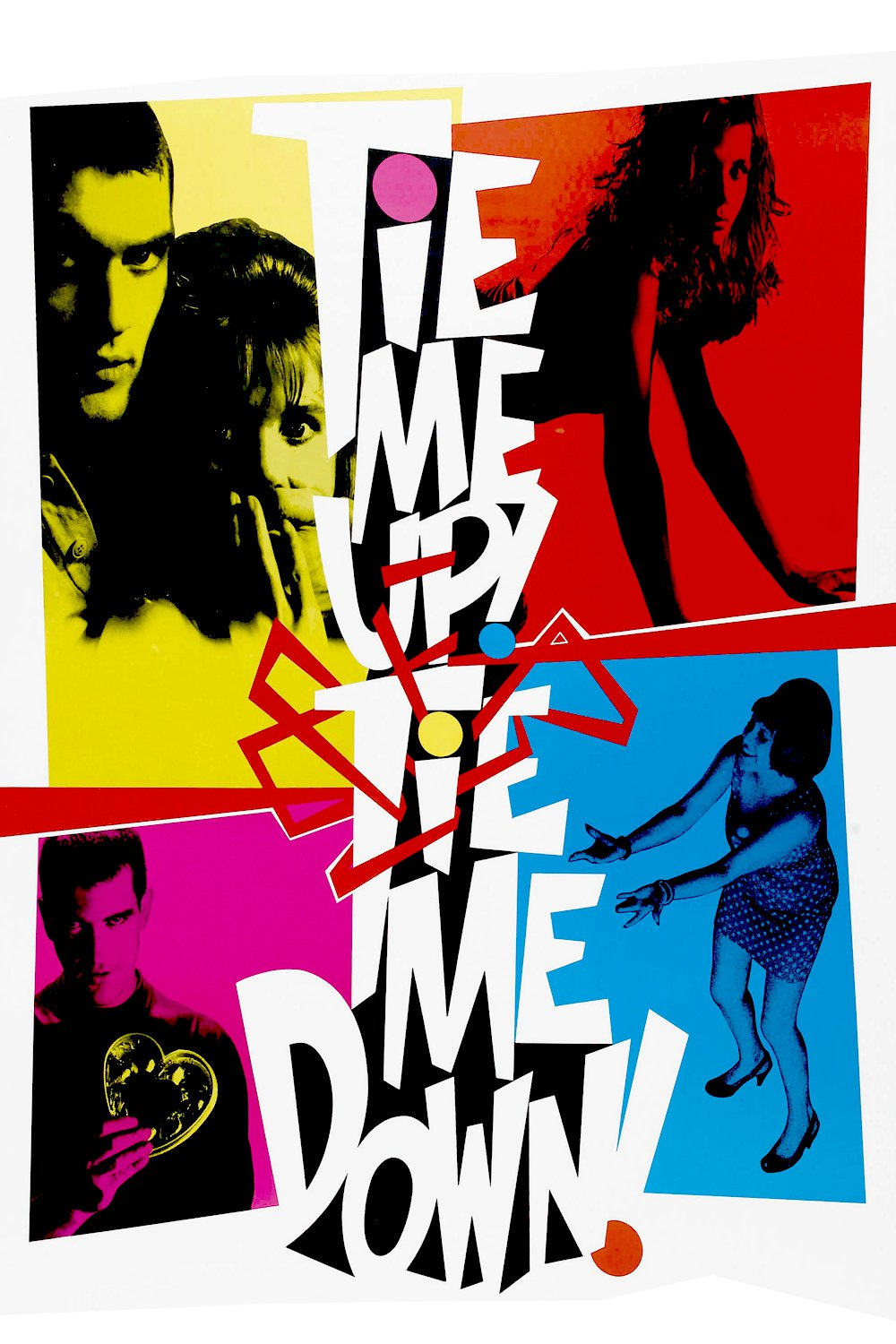 Poster for Tie Me Up! Tie Me Down!