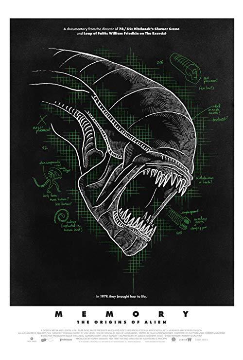 Poster for Memory: The Origins of Alien