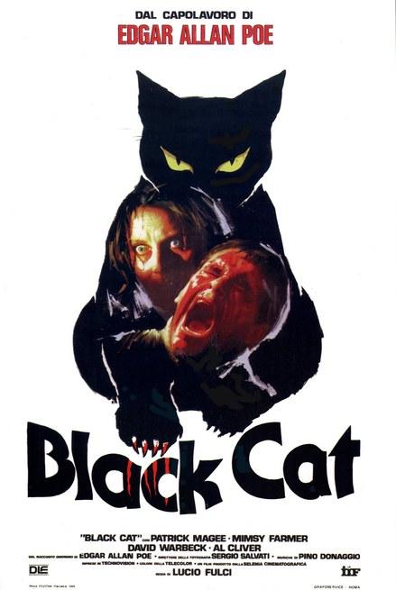 Poster for The Black Cat (Gatto nero)