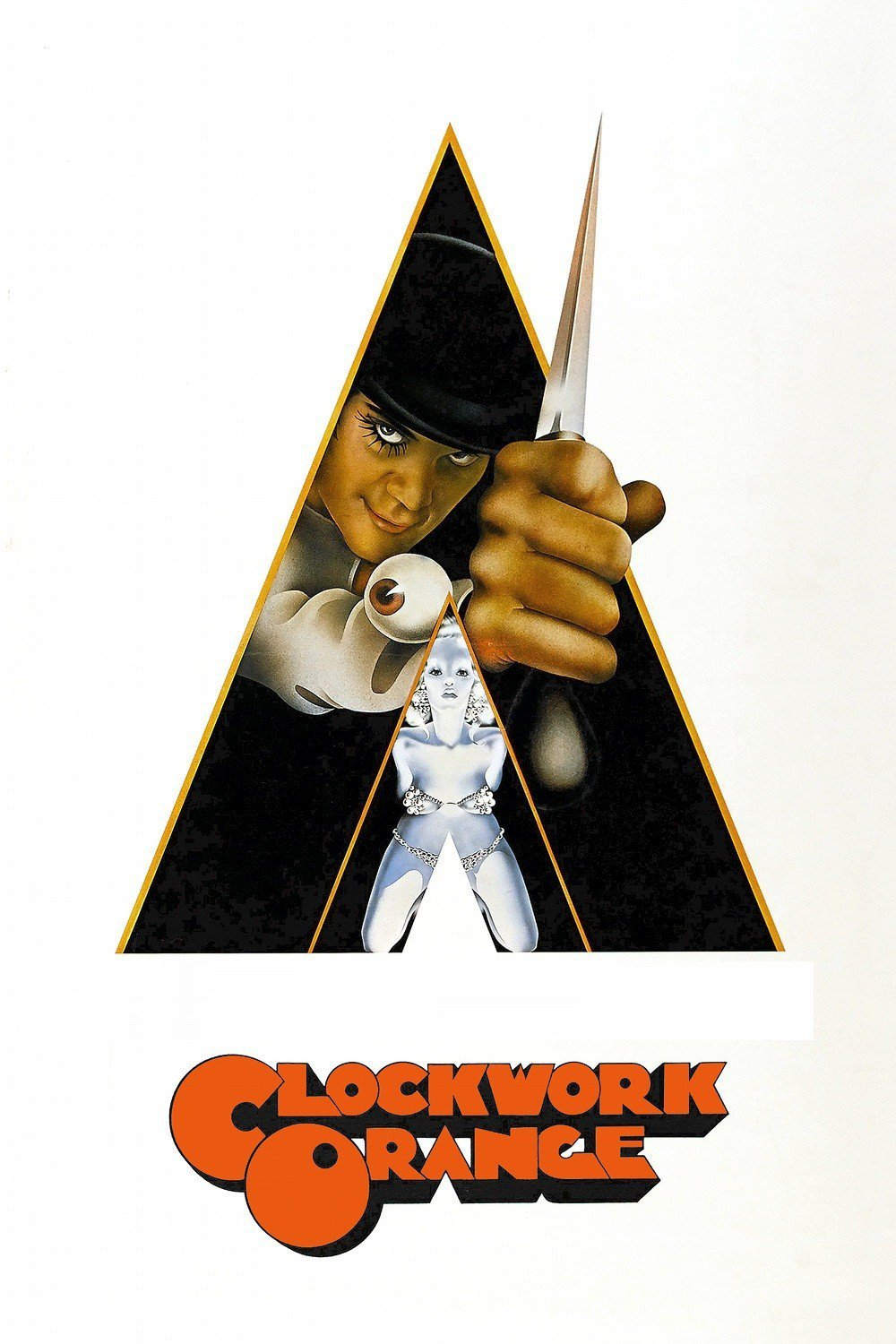 Poster for A Clockwork Orange (Spacecat VStro Veggie Comfort Food Brunch 12-4)