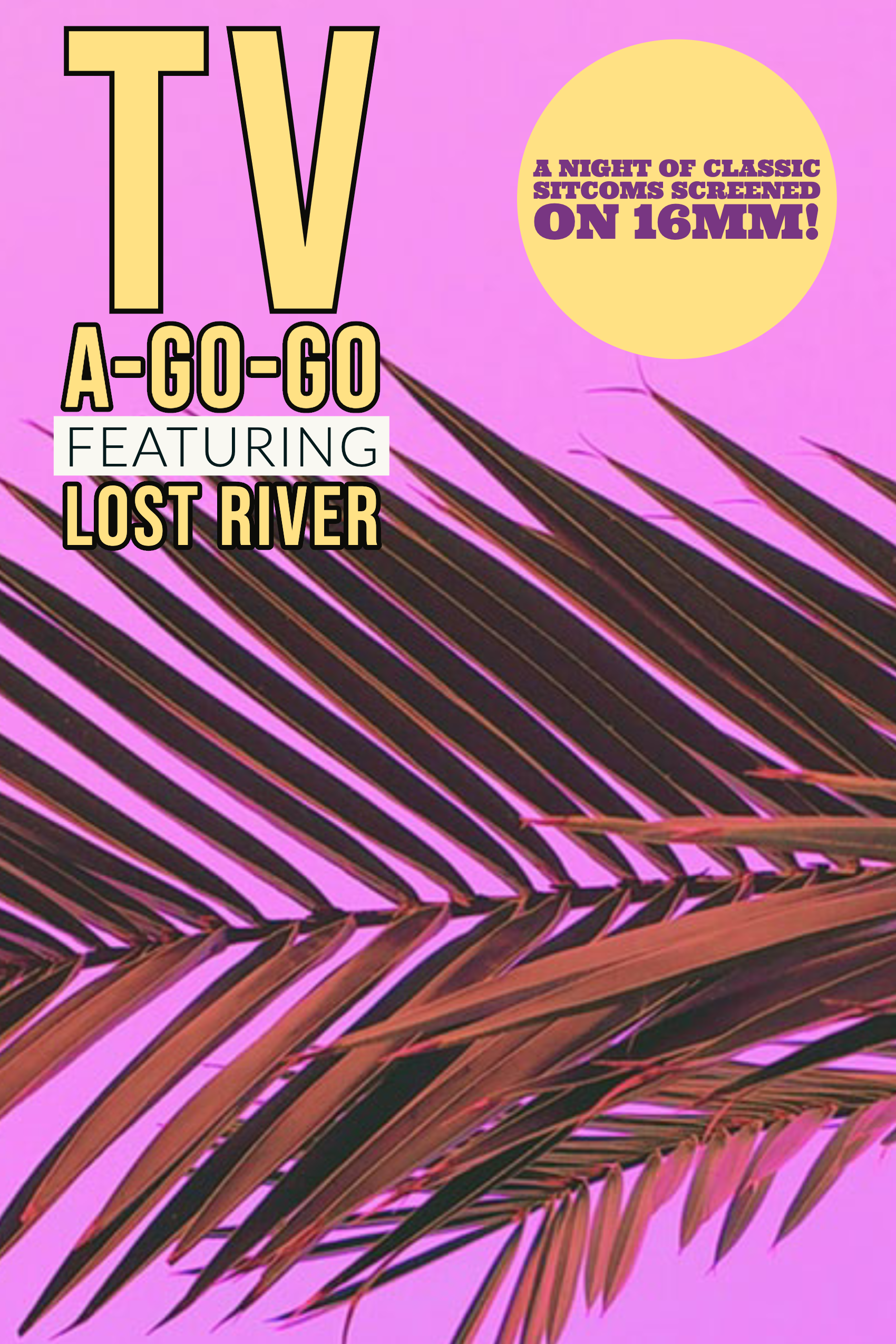 Poster for TV A-Go-Go w/Lost River