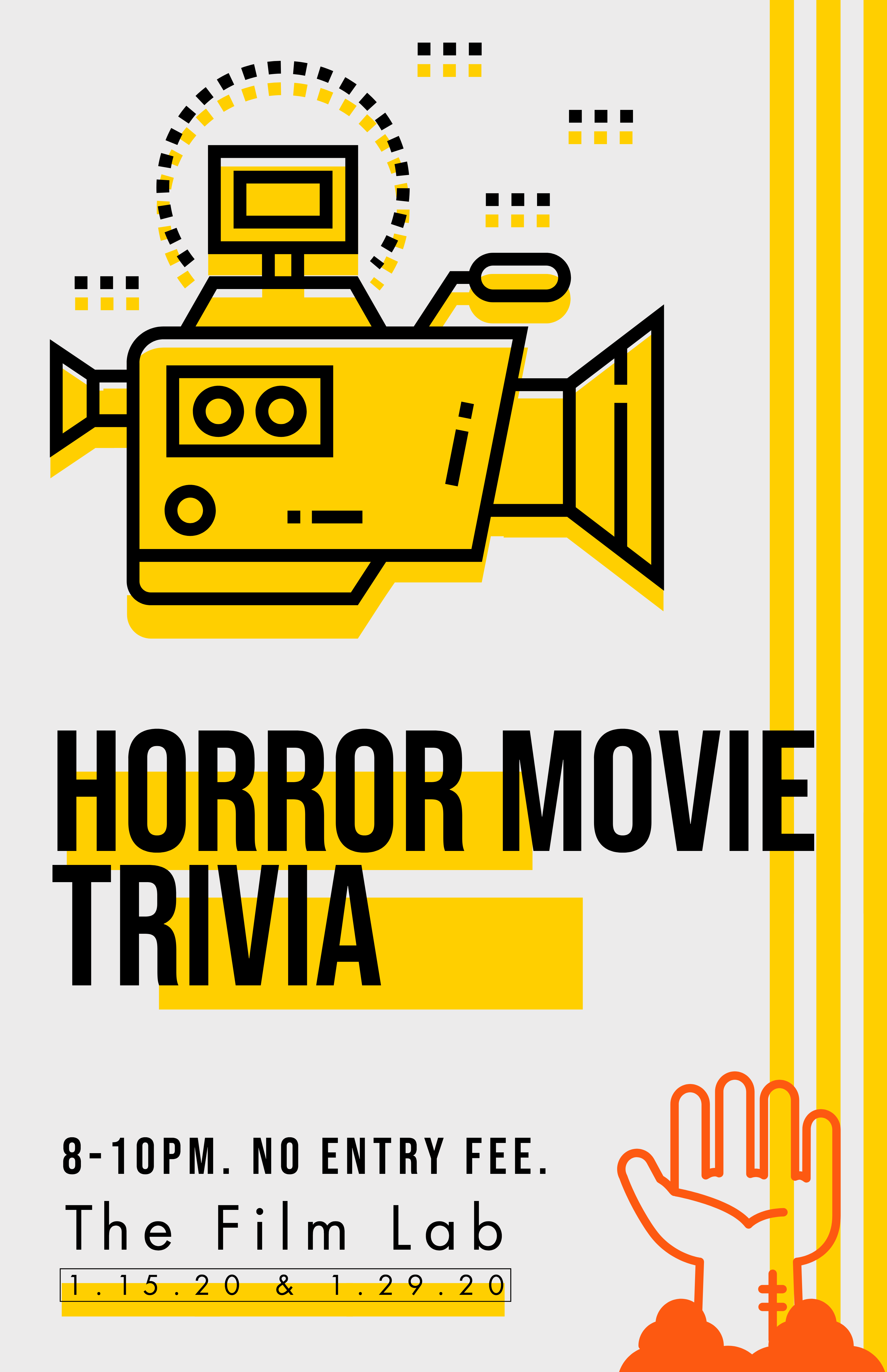 Poster for Horror Movie Trivia