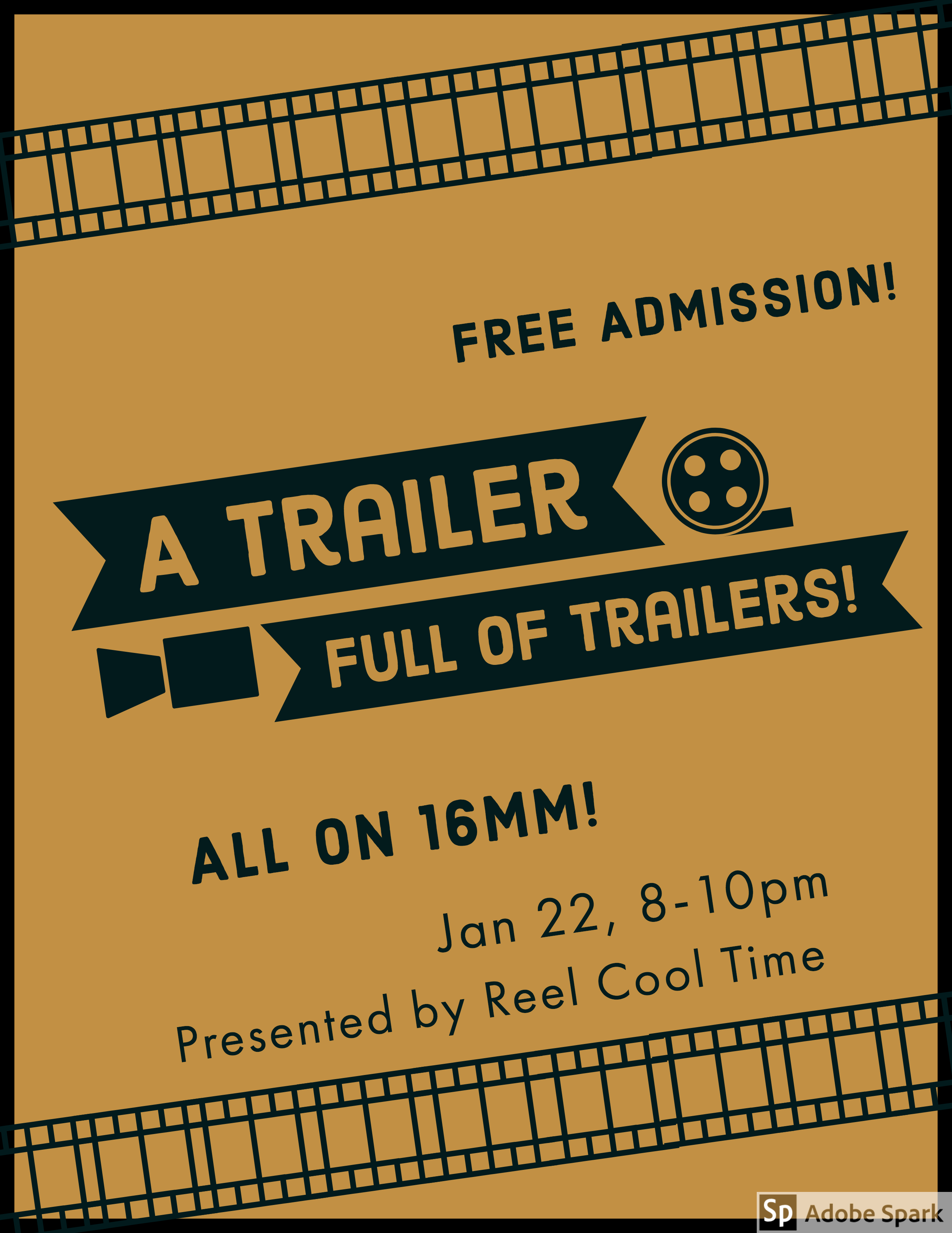 Poster for A Trailer Full of Trailers