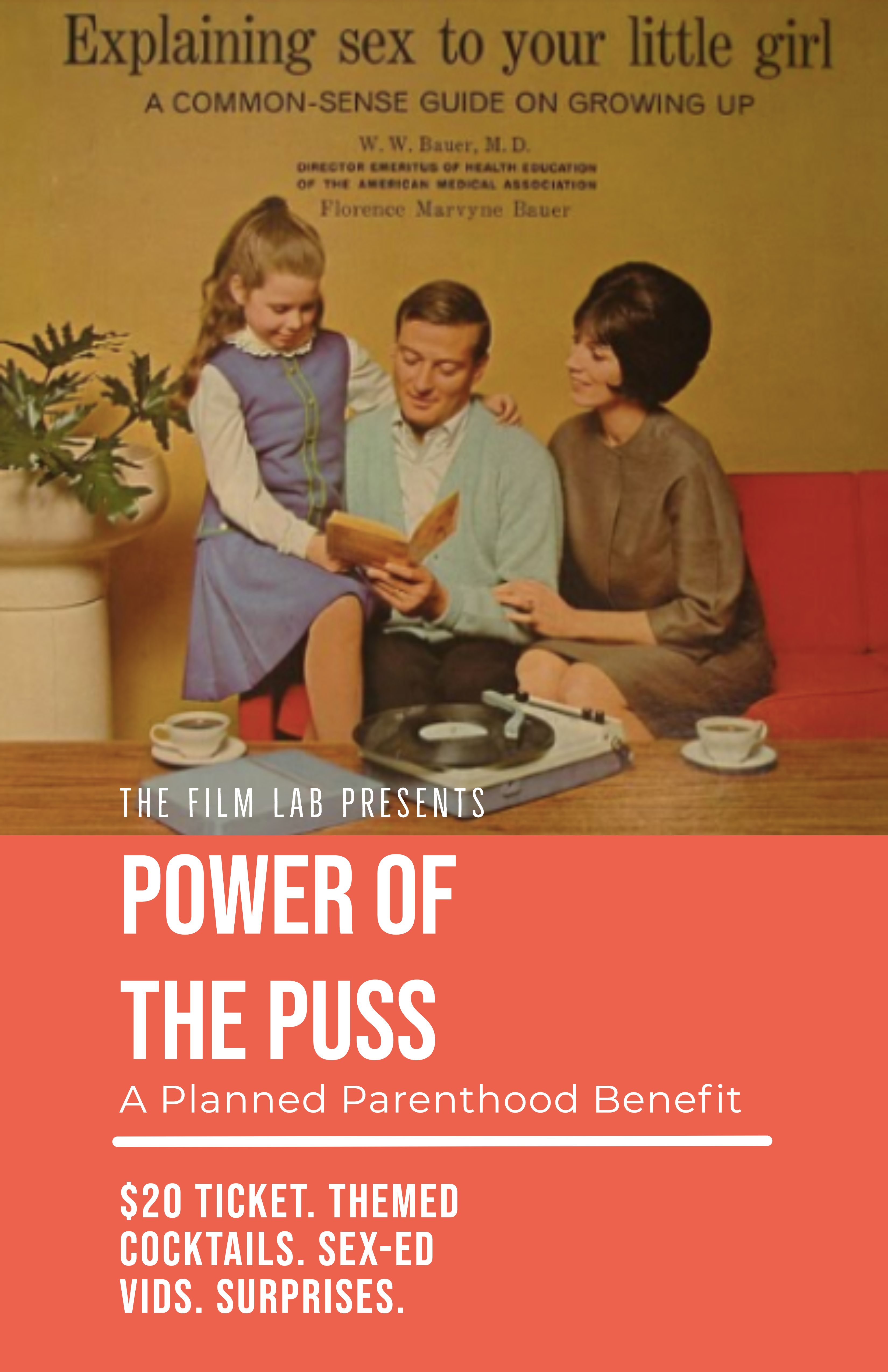Poster for Power of the Puss: A Planned Parenthood Benefit