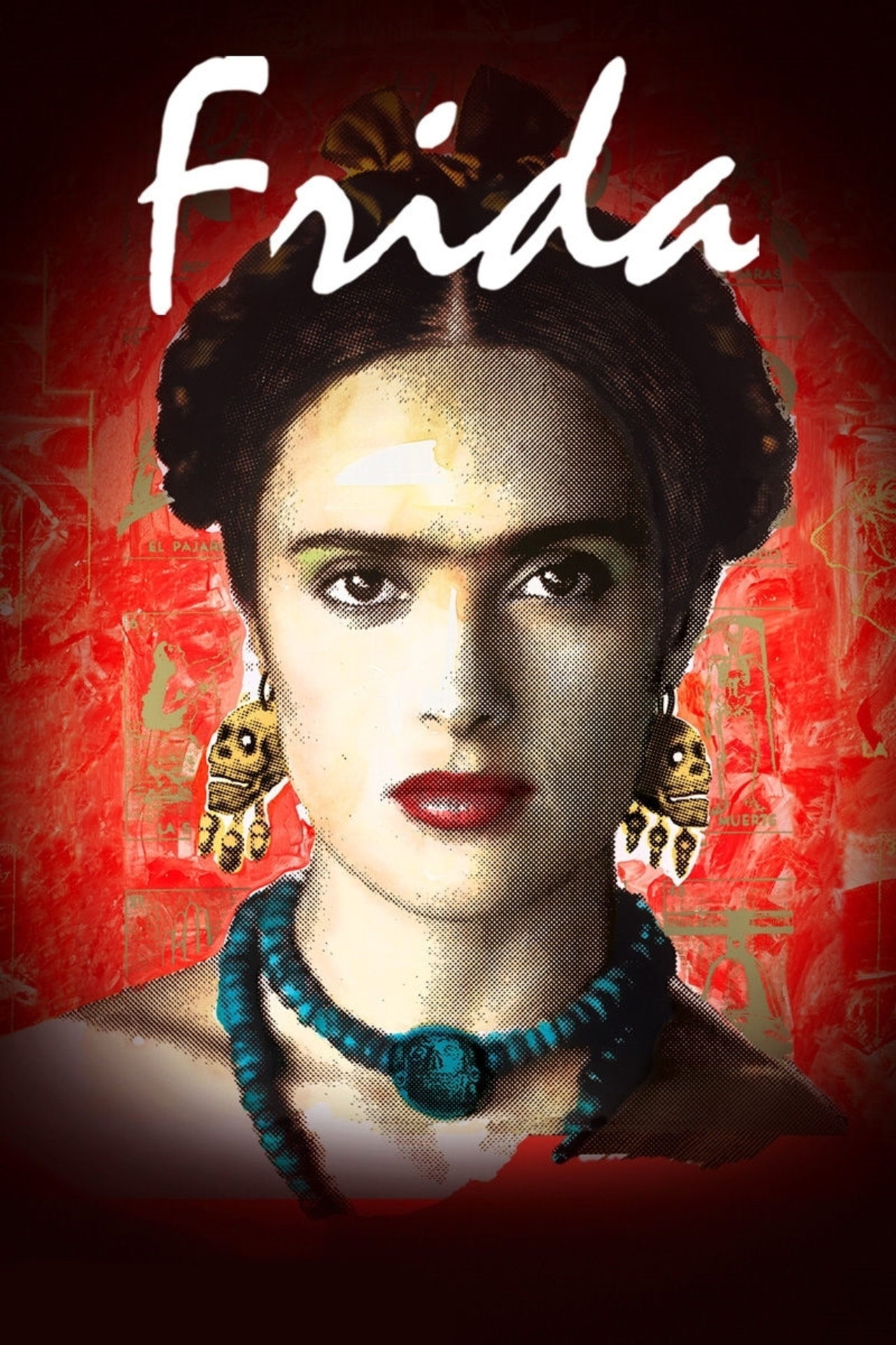 Poster for CultureShift Night at The Film Lab – FRIDA