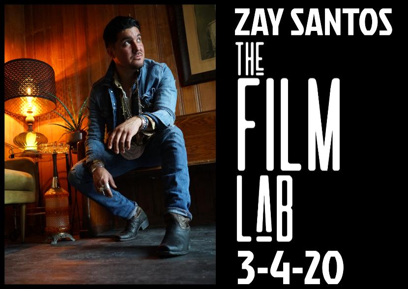 Poster for Zay Santos Rock Revolt – Solo set Wednesday!