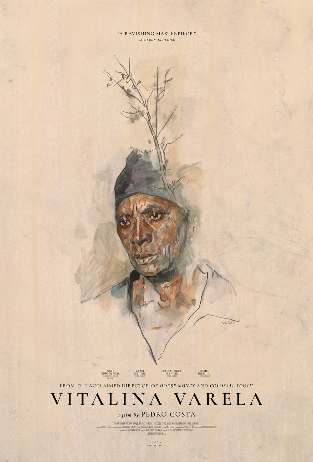 Poster for Vitalina Varela