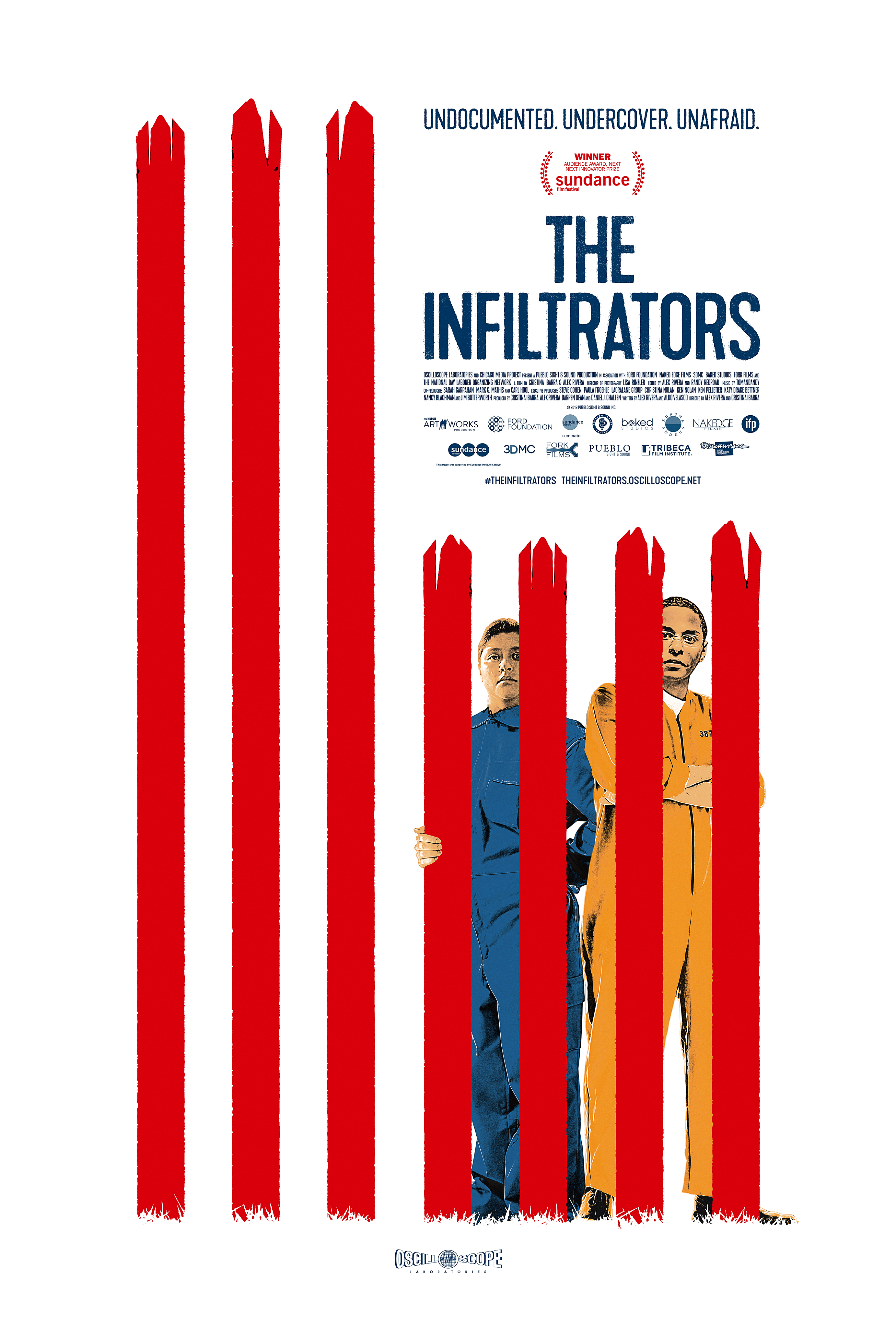 Poster for The Infiltrators